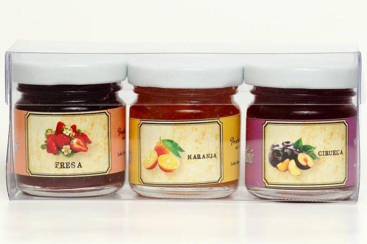 Ideales para regalos y recuerditos de eventos como Bautizos, Baby showers y Despedidas de Soltera #mermeladas #mermelade #jelly  #gourmet #artesanal #handmade #deli #delicious