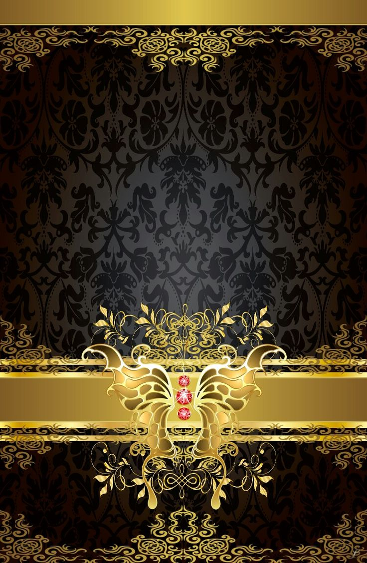 446 Best Wallpapers Black And Gold Images On Pinterest