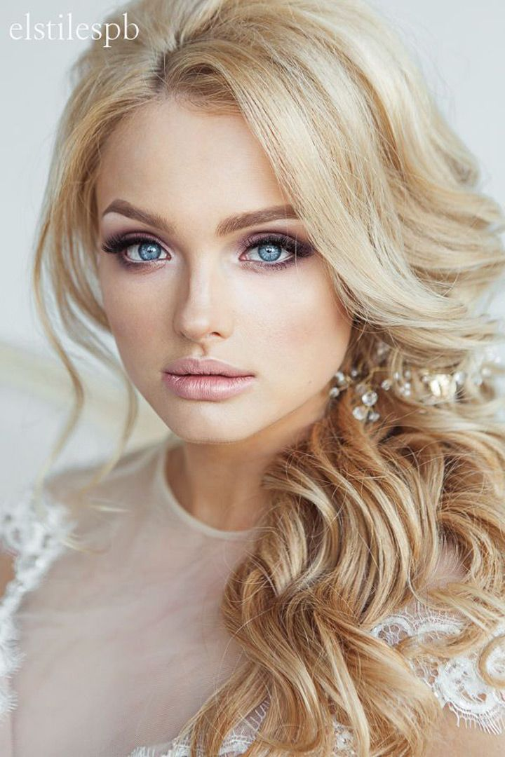 648 best Bridal hairstyles images on Pinterest | Bridal hairstyles ...