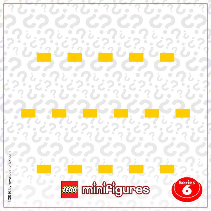 Sfondi da scaricare e stampare gratuitamente per realizzare un LEGO Minifigures Display Frame personalizzato con la cornice Ikea: Serie 5 e 6