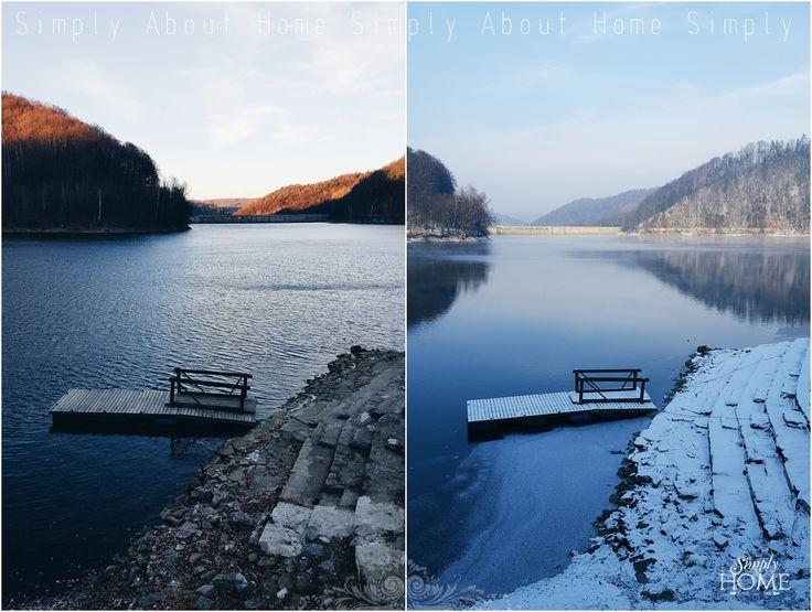 simply about home: Pierwszy krok w Nowy Rok #beautiful #poland #lake #winter