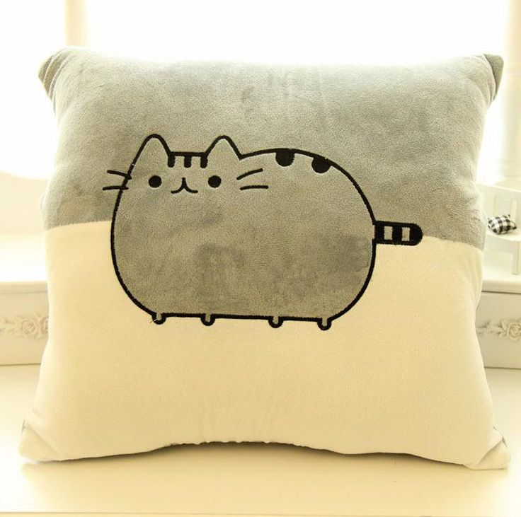 Pusheen Tail of Things Big Face Cat Cat Nap Air Conditioning Blanket Air Conditioning is a Birthday Present Plush Toy Online with $31.79/Piece on Fanqx918's Store | DHgate.com