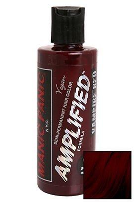 MANIC PANIC AMPLIFIED SEMI-PERMANENT VAMPIRE RED HAIR DYE