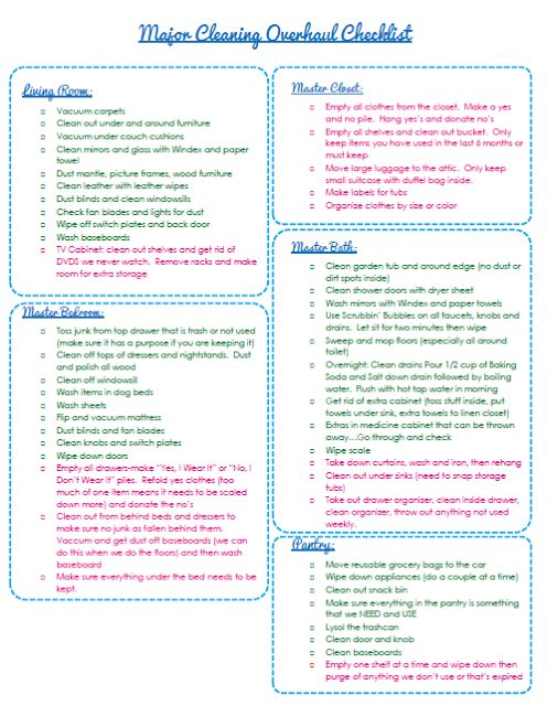 1000 ideas about cleaning routines on pinterest cleaning clean mama and cleaning tips - Home secrets brief cleaning guide ...