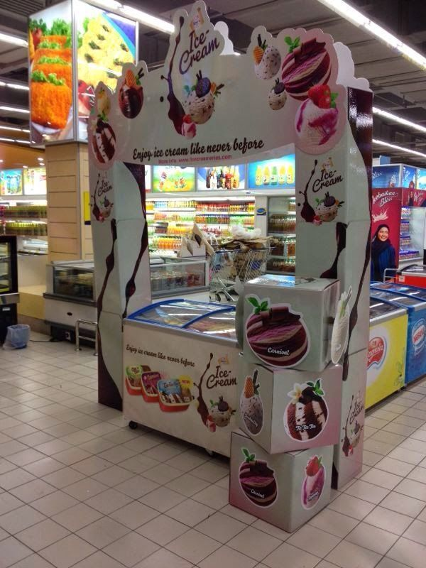 Ice Cream Displays | Point of purchase, Retail trends, Pos ...