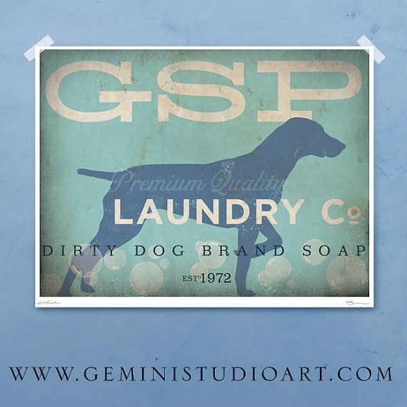 Hey, I found this really awesome Etsy listing at https://www.etsy.com/listing/153033610/german-shorthaired-pointer-laundry
