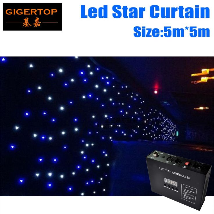 Discount Price 5Mx5M LED Star Curtain,RGBW Colored led stage Curtains LED Stage Backdrop,LED Star Cloth for Wedding Decoration #Affiliate
