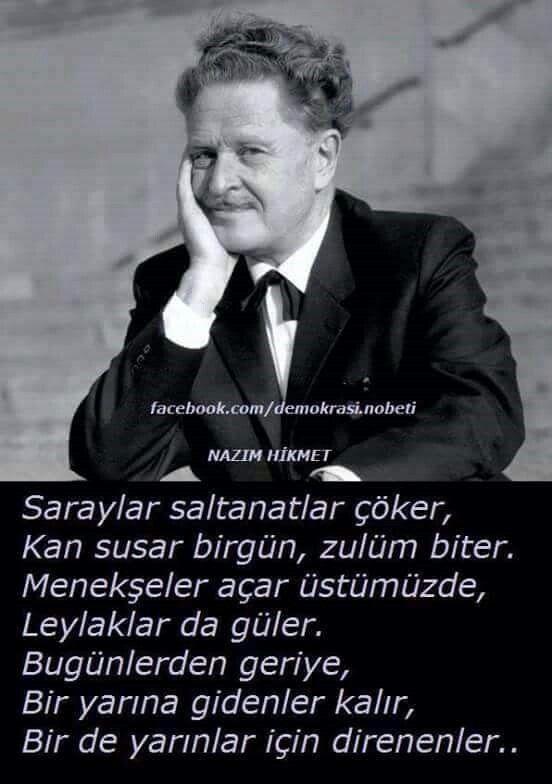 NAZIM HİKMET.
