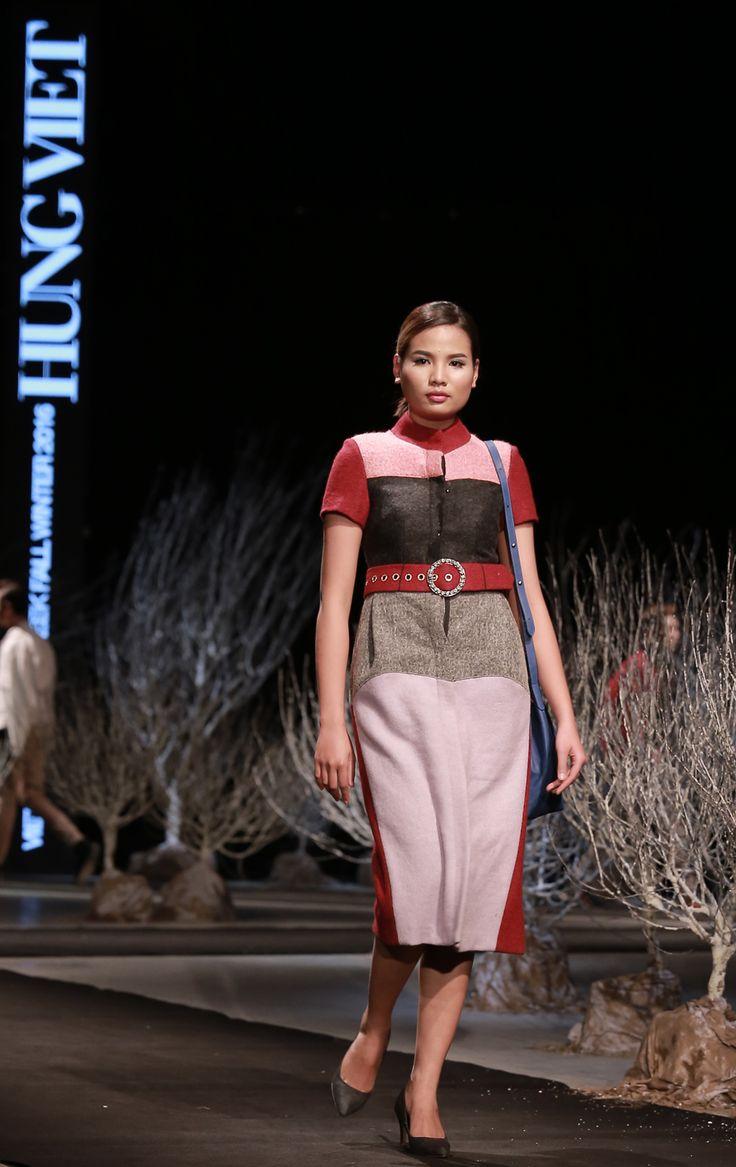 Vietnam Fashion Week FW16 - Ready to wear. Designer: Hung Viet. Photo: Cao Duy