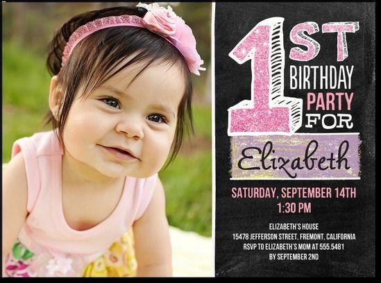 birthday invite...
