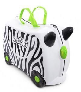 Trunki Kinderkoffer Zebra Zimba Speelgoed categorie: Baby en peuter