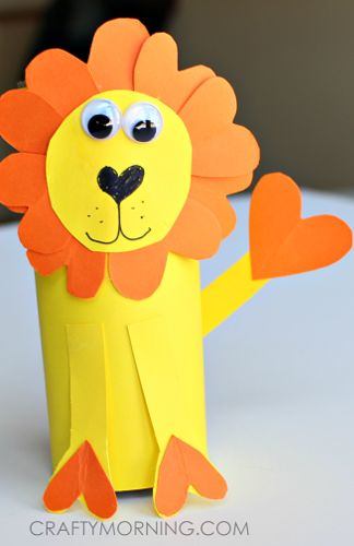 Paper Lion Kids Craft
