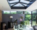 Une véranda Grandeur Nature pour votre salle à manger - la toiture plate by Grandeur Nature