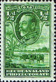 Bechuanaland 1932 King George V Baobab Tree Fine Mint Sg 99 Scott 105 Stamps For Sale Take a Look
