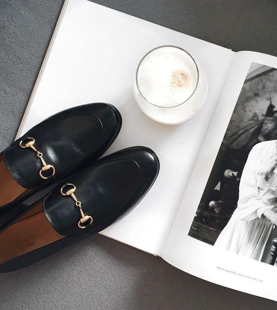 mocassins Gucci 2016 inspiration street look blog mode ele nuki
