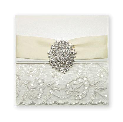 Diamond Louise invitation - Handmade Wedding Invitations & Unique Stationery Online