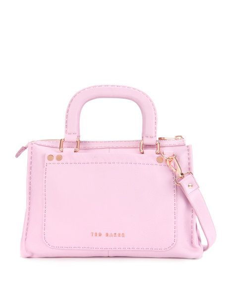 Stab stitch bag - Dusky Pink | Bags | Ted Baker $345