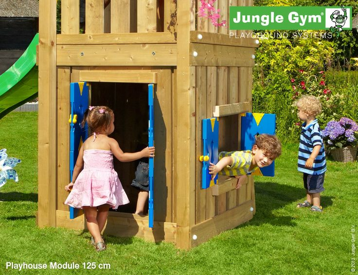 Wendy house by Jungle Gym - Playhouse Module 125cm