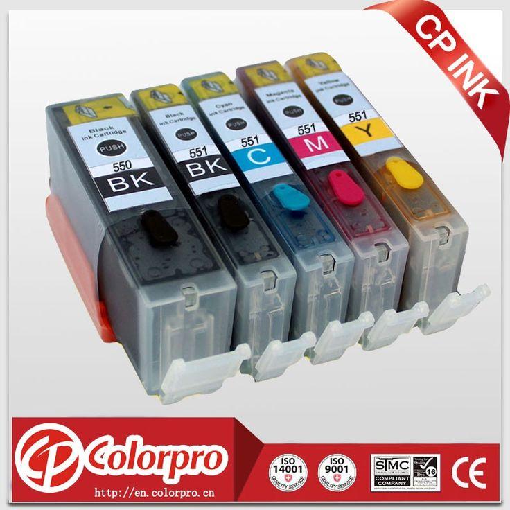 Encontre mais Cartuchos de Tinta Informações sobre 5PK (BK/PBK/C/M/Y) cartucho de tinta Comestível para impressora canon PGI 550 CLI 551 PIXMA MG5450/MG6350/IP7250/MX925, de alta qualidade cartucho de tinta compatível, cartucho de tinta e toner China Fornecedores, Barato cartucho de tinta original de Colorpro Technology Limited em Aliexpress.com