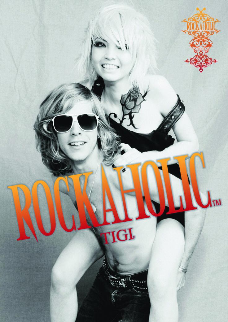 TIGI Rockaholic Jetzt auf clickandcare.ch