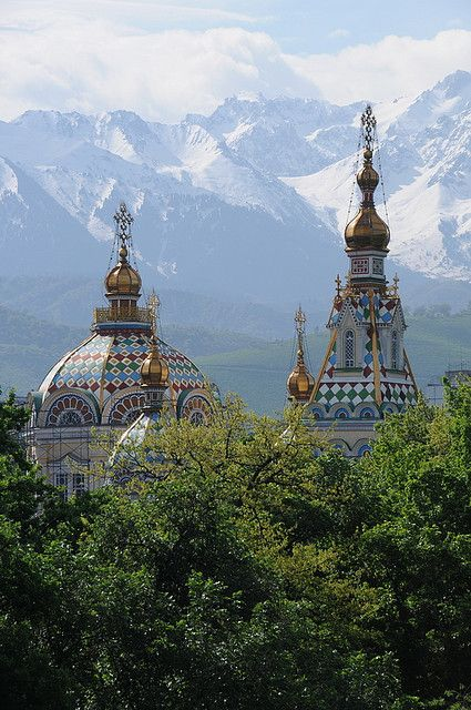 Zenkov Cathedral in Alma-Ata, Kazakhstan