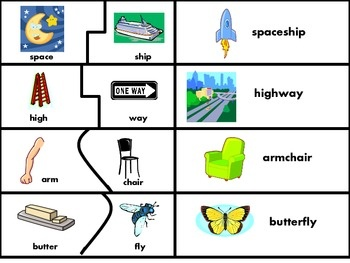 Free compound words activity set on Teachers Pay Teachers - nice ...
