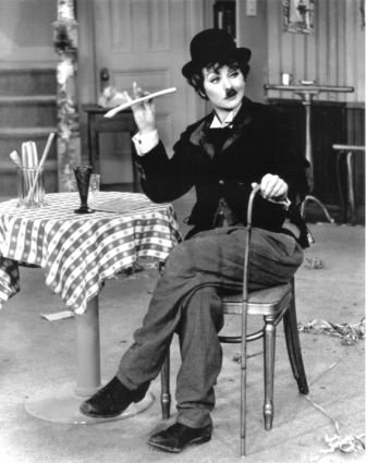 Lucille Ball as Charlie Chaplin My favorite episode, also loved the Lucy and Ethel working on the conveyor belt at the chocolate factory.