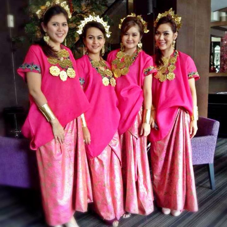 Baju Bodo from Makassar Indonesia