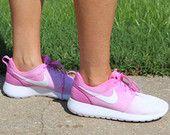 Pink Ombre Nike Roshe Runs