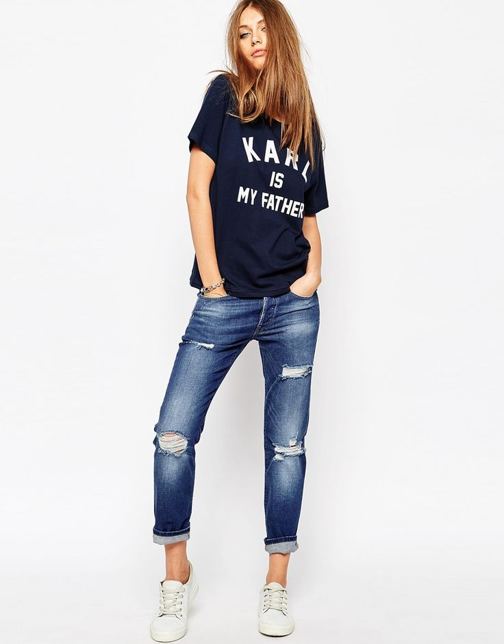 Imagen 4 de Camiseta con estampado Karl Is My Father de Eleven Paris