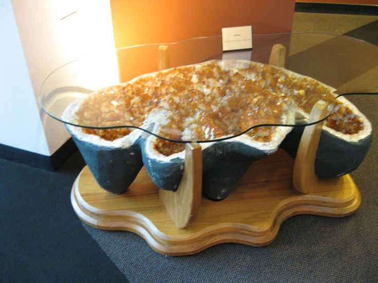 Geode Coffee Table For the Home Pinterest House