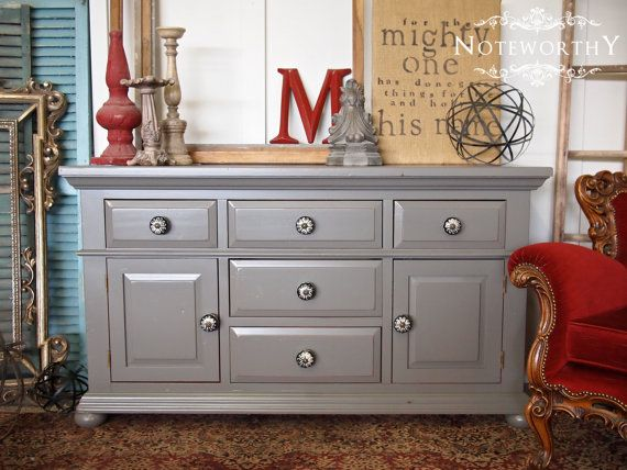 Custom Grey Dresser Buffet Changer by noteworthyhome on Etsy   525 00  Boutique  buffet. 12 best Broyhill Fontana ideas images on Pinterest   Furniture