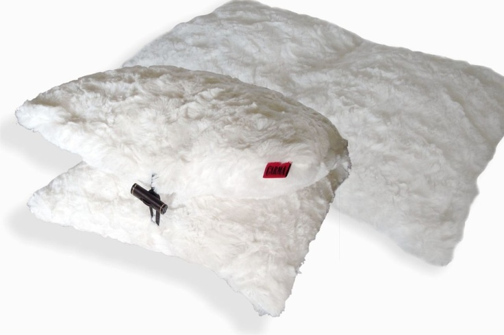 CARMA imitation fur Travel pillow