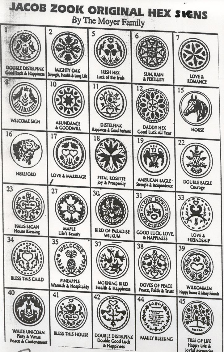 12 best heathenry images on pinterest pennsylvania dutch barn jacob zook original hex signs by the moyer family biocorpaavc Images