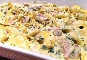 12 gyors szaftos-krémes sonkás tészta
