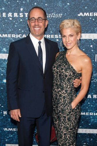 Jerry Seinfeld and his wife, Jessica, enjoyed a date night at the 2014 Women's Leadership Award ceremony honoring designer Stella McCartney in NYC on Thursday, Nov. 13. (Picture Perfect) | Closer Weekly