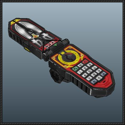 Power Rangers - Legendary Morpher Free Papercraft Download - http://www.papercraftsquare.com/power-rangers-legendary-morpher-free-papercraft-download.html
