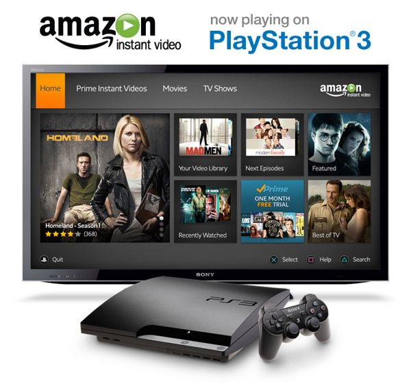 Amazon Instant Video - PS3 App on Behance