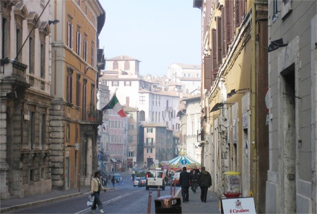 Perugia, Italia--Studied abroad here long ago. Tornerò mai? Miss it.