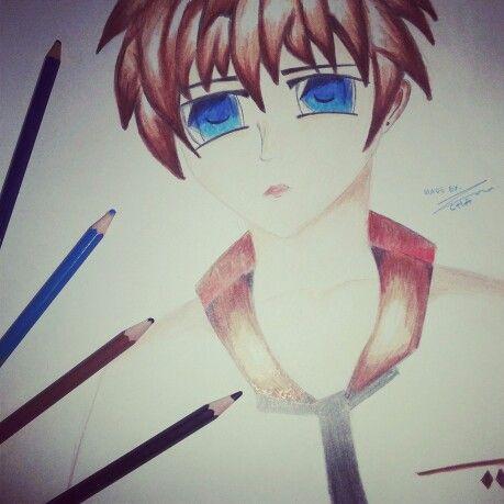Heyy ya made it again I cant stop study to draw anime, Hope u like it ♥ya #bymyself