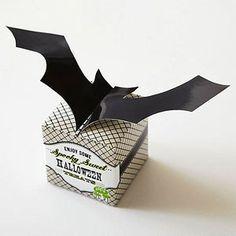 Bat-Shape Favor Box