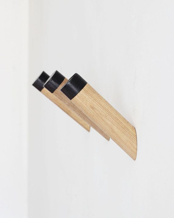 Black Coat hook, modern wall hooks, entryway coat hooks, decorative wall  hooks, wall coat rack ,WH-05