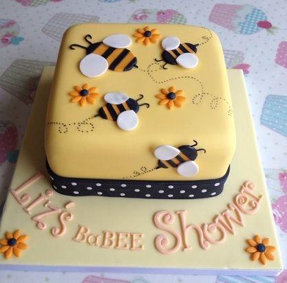 bolo decorado abelhas