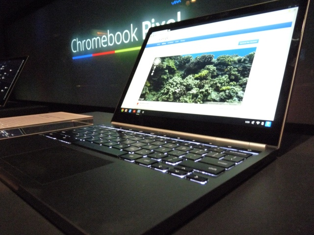 news  Comment  42  inShare26  Google Launches $1,299 Chromebook Pixel With 2560×1700 3:2 12.85″ Touchscreen, Core i5 CPU, 1TB Of Google Drive Storage & Optional LTE