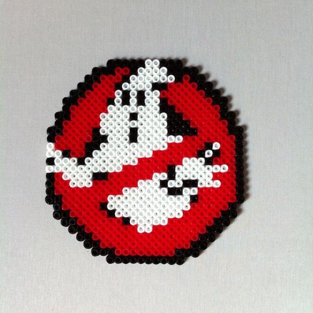 Cazafantamas Ghostbusters Hama Beads Hama Beads Hama Beads
