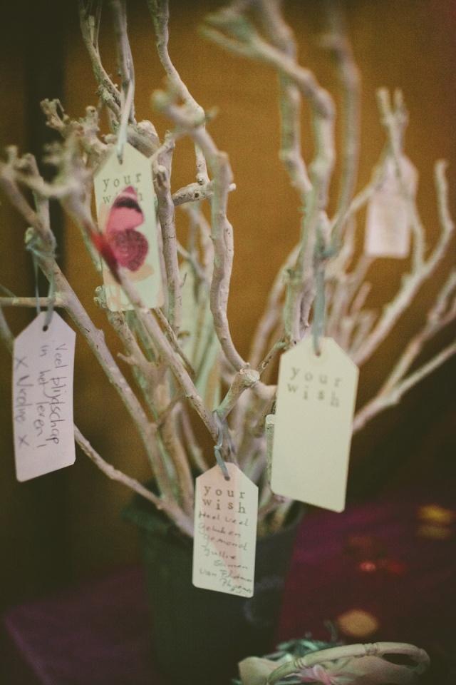 Trendy hippe wishing tree!