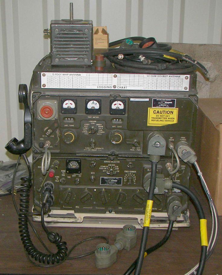 AN/GRC-106A HF Radio Set