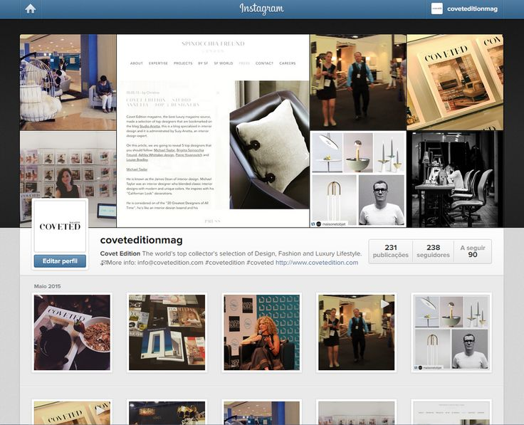 Follow us on instagram: http://goo.gl/vJH9Nw   The best and the most trendy photos #CovetEdition #Instagram