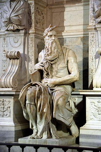 Mosè di Michelangelo a San Pietro in Vincoli #TuscanyAgriturismoGiratola