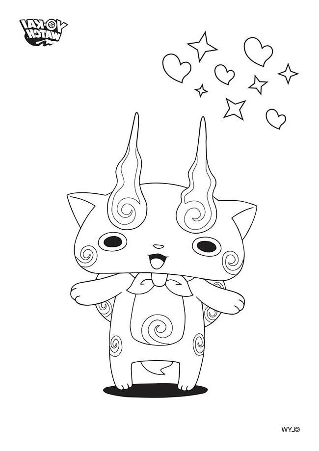 Dessin Yo Kai Tl86 Watch Drawing Coloring Pages Character Drawing